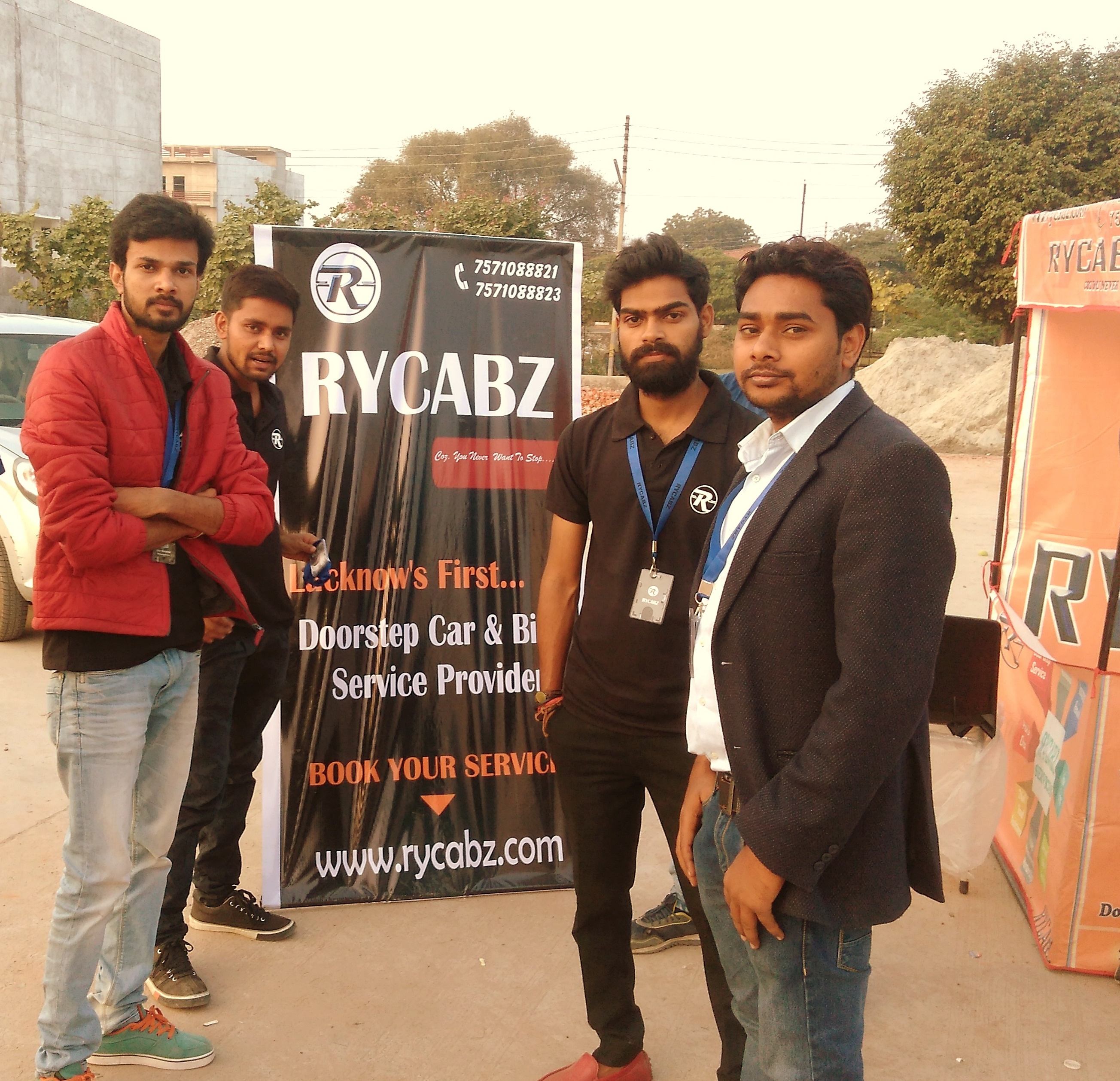 Lucknow's first online cars and bikes service provider RYCABZ
