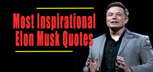 Inspirational Elon Musk Quotes Infographic