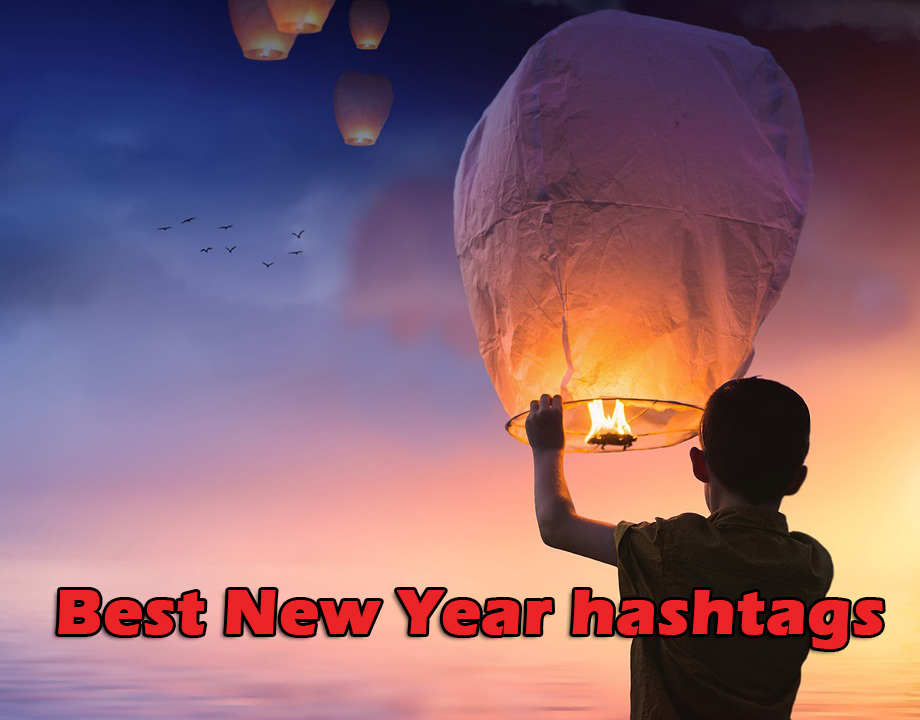Best New Year hashtags