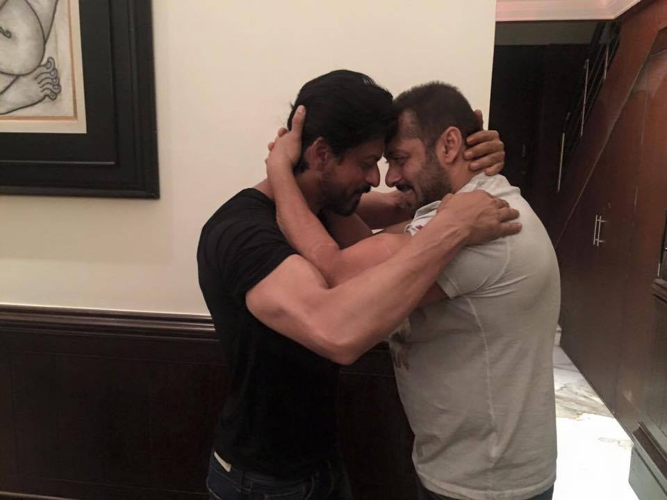 Photos of Shahrukh Khan and Salman Khan