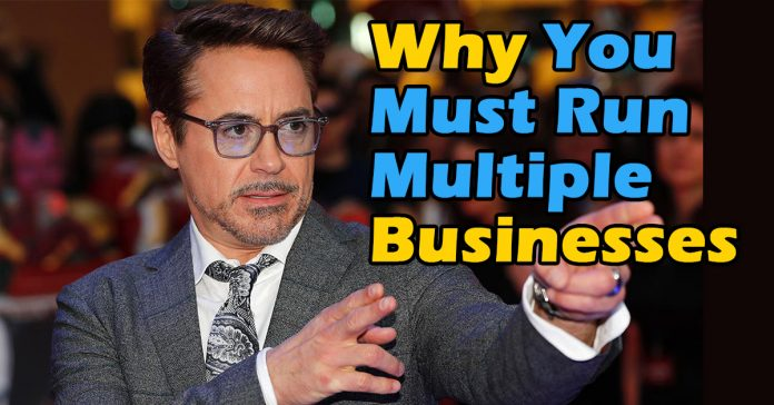 Why you must run multiple businesses