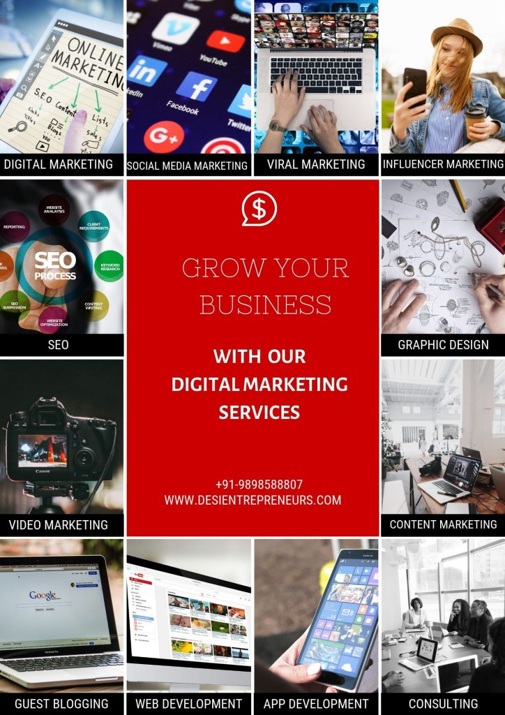 Digital marketing services desi Entrepreneurs